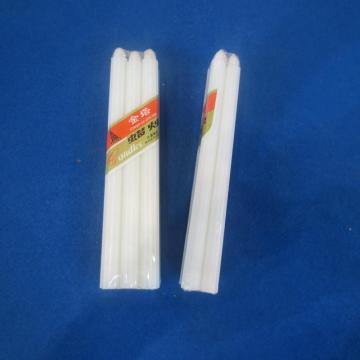 8x65Bags Packing Pure Household White Candle