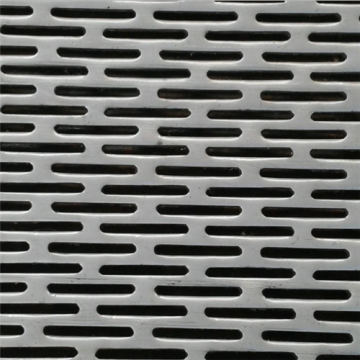 No Blinding Steel Sheet Piercing Mesh