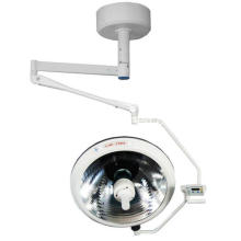 OEM/ODM for Single Dome Surgical Room Lamp Ceiling mounted double single dome halogen operating lamp export to Qatar Wholesale