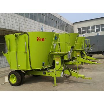 Dairy animal feeding mixer