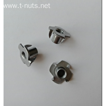 4 Pronged Tee Blind Nuts Furniture Inserts
