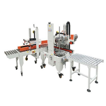 Small color box automatic sealing machine