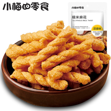 Glutinous crispy rice twist