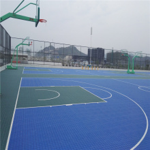 PP Court Tiles Flooring for Outdoor Basketball Court
