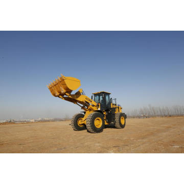 SEM 5tons SEM653D Wheel Loaders Good For Coal Yard, Port Cargo Handling, Building, Road And Forestry