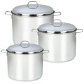 Stainless Steel Pot with Liner Knob