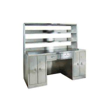 Stainless steel workbench (with reagent rack)
