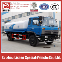 Dongfeng 12000liters water tanker truck water tanker ship