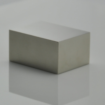 N38M Strong sintered NdFeB block cube magnet