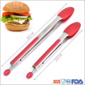 Silicone head Heat resistant Clips Bread Tongs