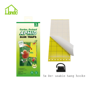 Aphid Glue Trap With Hanging Hooks