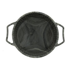 Sturdy Handle Round Marbling Silicone Cake Mold Pan