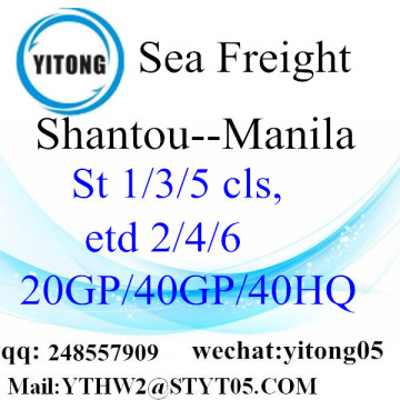 International Shipping Service to Manila