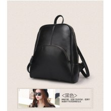 New fashion leather women's leather leisure backpack
