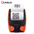 Handheld mobile bluetooth 58mm thermal printer