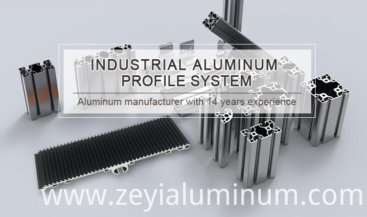 Industrial Aluminum Profile Set