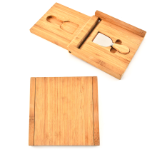 1piece Cheese Spatula Set With Bamboo Box