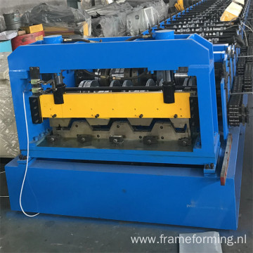 floor deck roll former forming machine