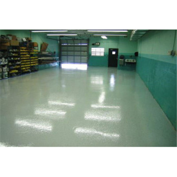 Epoxy orange peel anti-slip floor