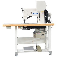 Top and Bottom Feed Multi-Points Thick Thread Zigzag Stitching Machine