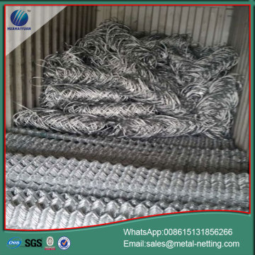 slope protection netting wire rope net rockfall mesh