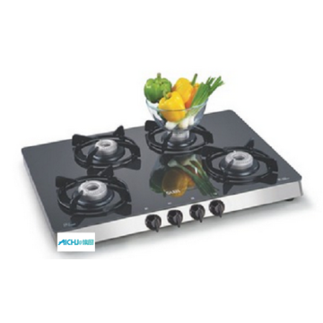 8MM Thick Toughened Glass Gas Cooktop