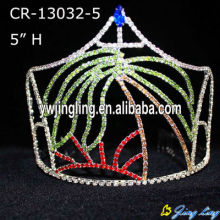 Pageant Crown Tree Sea Sun Theme crown