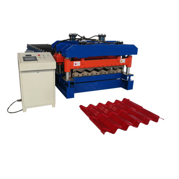 Hot Color Steel Glazed Roll Forming Machinery