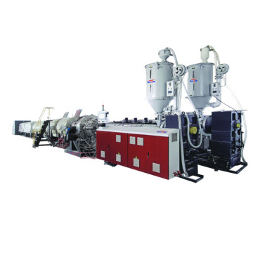 PE 16-3000MM Water Fuel Gas Pipe Extrusion Machine