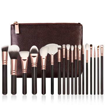 Professional Synthetic hair 18pcs makeup brush set
