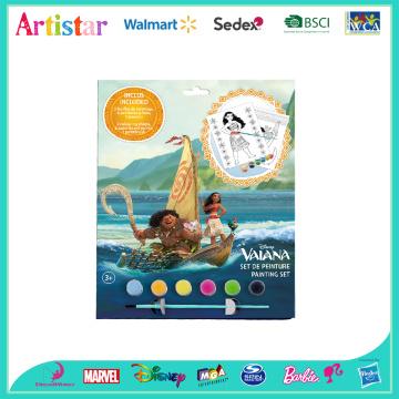DISNEY MOANA VAIANA colouring set