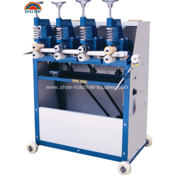 Leather Belt Four wheel Laminating Machine YF-03