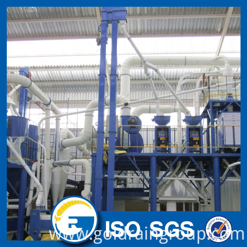 100 tonnes corn flour mill
