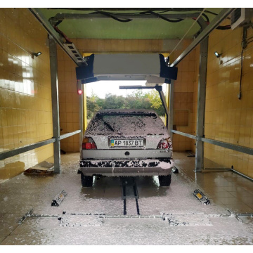 Laserwash car wash touchless high pressure cleaning