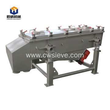 Stainless steel grading linear shaking sieve