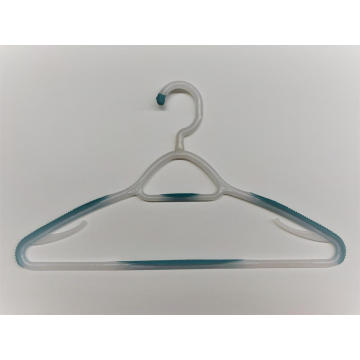 EISHO Beautiful Plastic Hanger With Rubber
