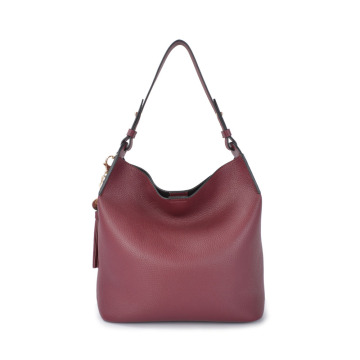 Women Top-Handle Fashion Hobo Bag Real Cow