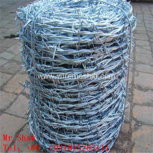 Electro Galvanized Barbed Wire For Protection