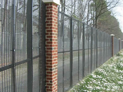 358 security mesh fence house