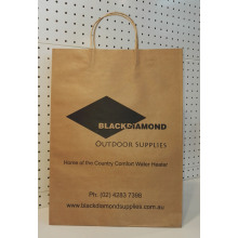 brown kraft paper bag-blackdiamond