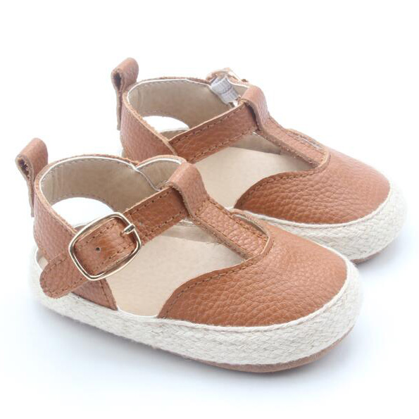 Kids Girls Sandals Genuine Leather Shoes