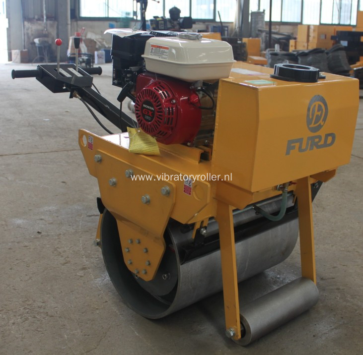 Walk Behind Single Drum Vibratory Roller