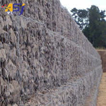 electric galvanized gabion mesh retaining wall
