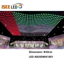 High Speed RGB Color DMX Kinetic Spheres