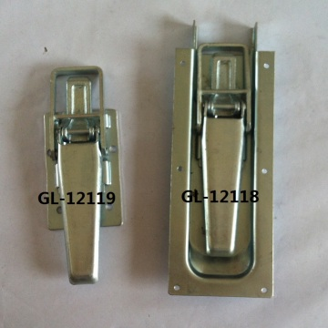 High Quality for China Truck Paddle Latches, Tool Box Latch Lock, Dropside Door Latch, Toolbox Door Latch, T Handle Paddle Lock Manufacturer and Supplier Stainless Tool Box Latch Handle Trailer Lock export to Cuba Suppliers