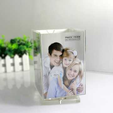 Inexpensive Perspex Cube Picture Frames