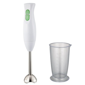 Hand held emulsifier immersion stick food processor blender