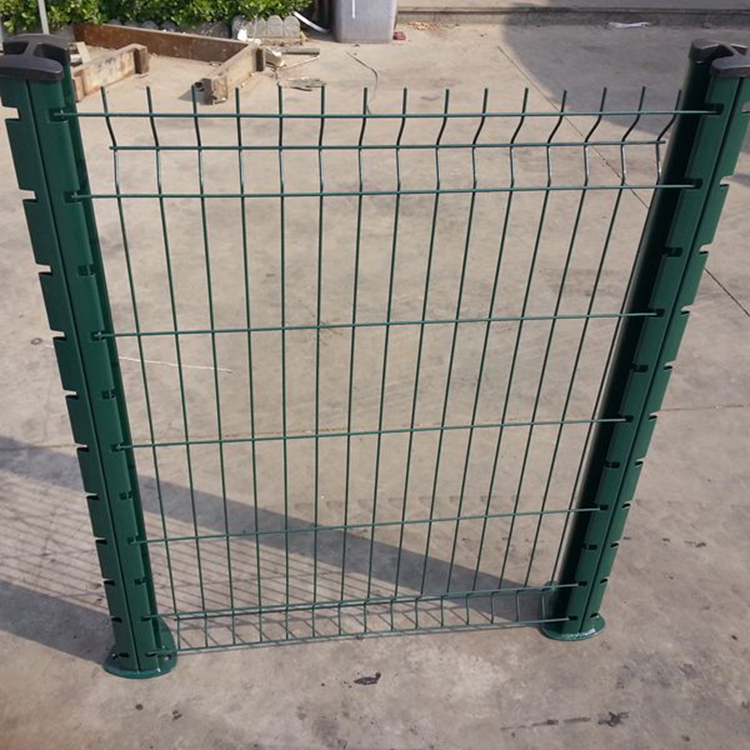 Garden bending welded fold mesh fence panel design