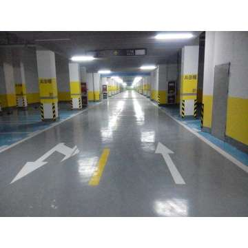Garage epoxy waterborne flat coating floor paint