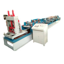 Factory source for Color CZ Purlin Roll Forming Machine adjustable c u roll forming machinery supply to India Suppliers